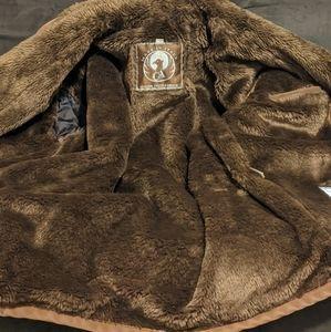 ♠️♠️+Q _ GA Made In ITALY Shearling Coat